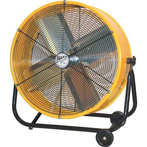 "Maxx Air Tilt Fan 24"" 120VAC BF24TFYELUPS"