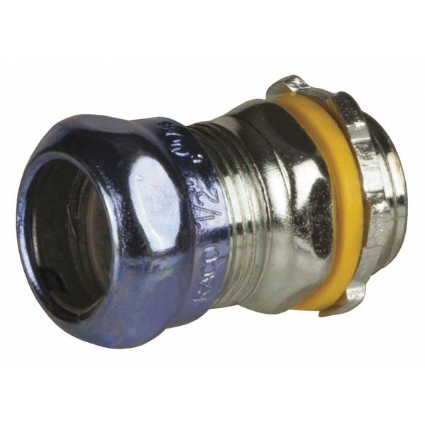 """Raco Compression Connector, 3/4"""" Conduit, Steel 2903RT"""