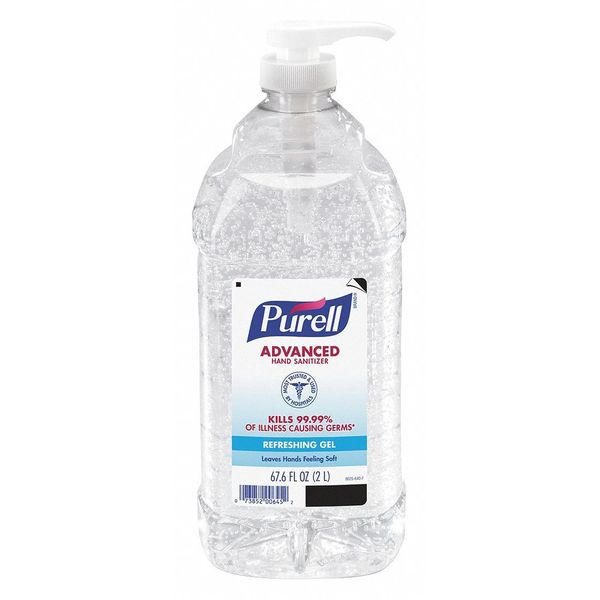 Purell Instant Hand Sanitizer, 2L, Clear 9625-04