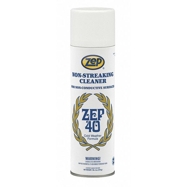 Zep Cleaning Product,  Alcohol-Like,  Clear 014401
