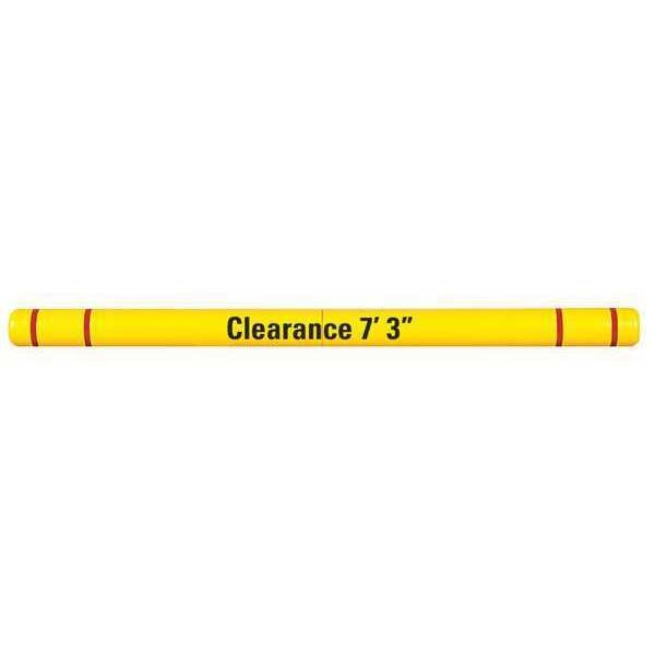 Post Guard Clearance Bar, Graphics, 4x96, Yellow/Red HTGRD496YR