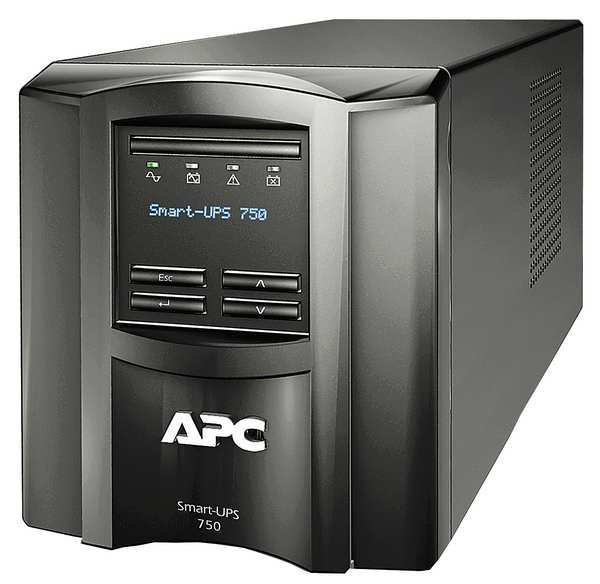 Apc By Schneider Electric Smart UPS, Line Interactive, Floor, 750VA SMT750C