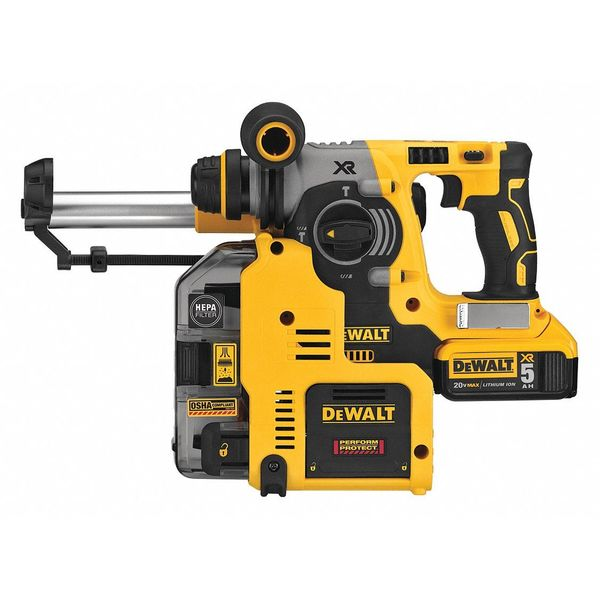 Dewalt Cordless Rotary Hammer, Series 20V MAX DCH273P2DHO