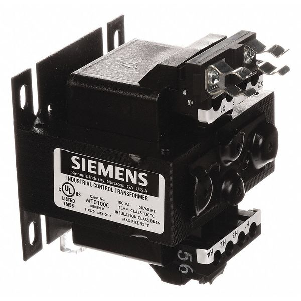 24 Secondary Volts 120 X 240 Primary Volts 50//60Hz 50VA Rating International Siemens MTG0050C Industrial Power Transformer