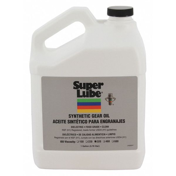 Super Lube 1 gal Gear Oil Bottle Translucent Clear 54301