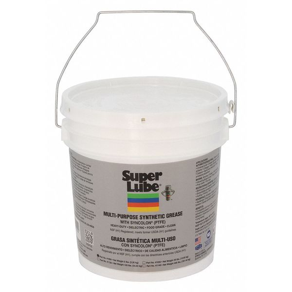 Super Lube 5 lb Multipurpose Grease Pail Translucent White 41050