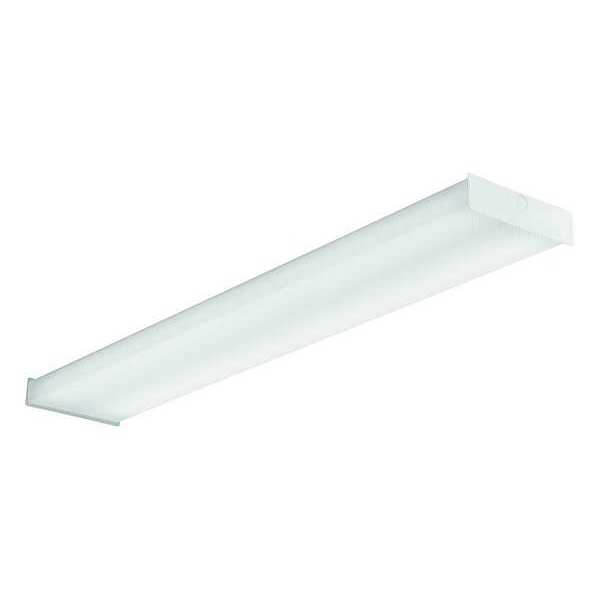 Lithonia Lighting LED Wraparound Fixture, 4000K, White SBL4 LP840