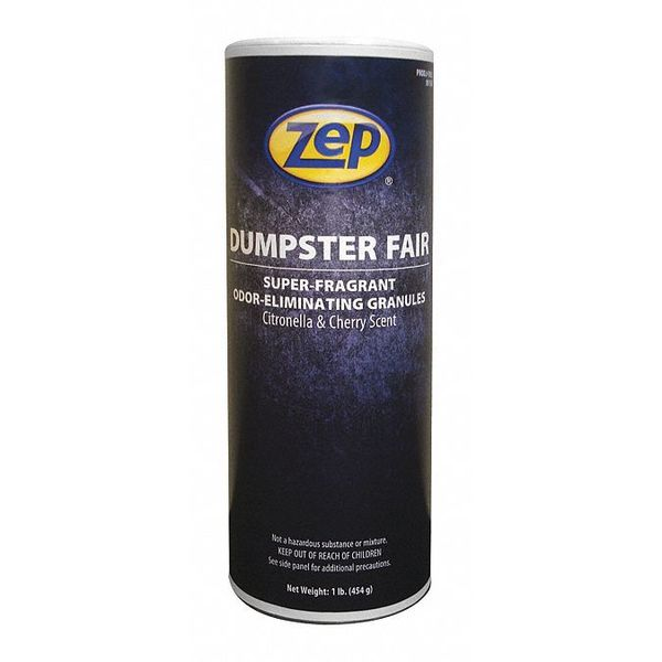 Zep Deodorizer, Size 1 lb., Canister, PK12 F03301