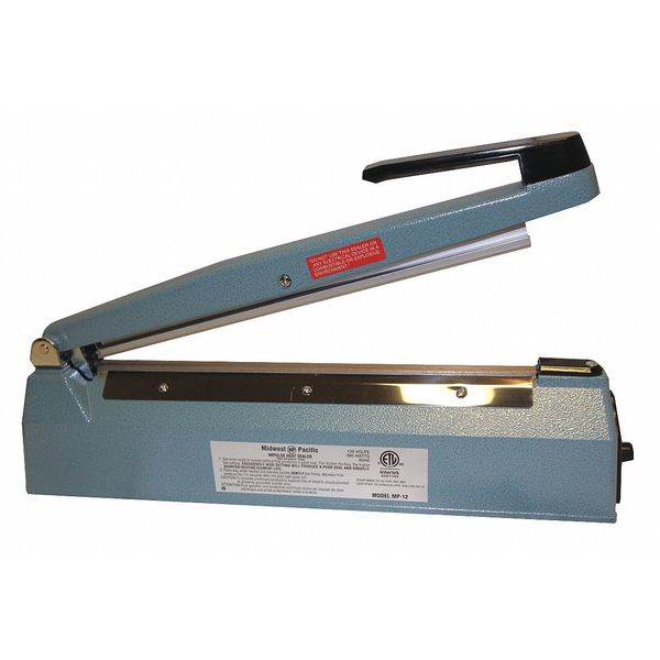 Midwest Pacific Heat Sealer, Hand Operated, 120VAC MP-12