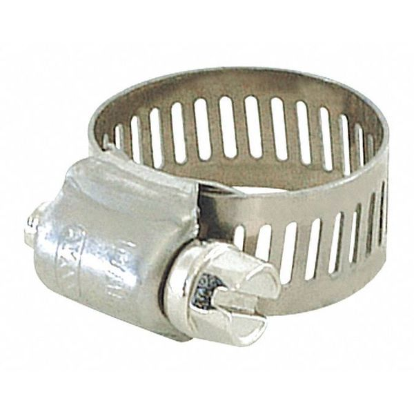 Zoro Select Hose Clamp, Interlocked, SAE 10, PK10 43257