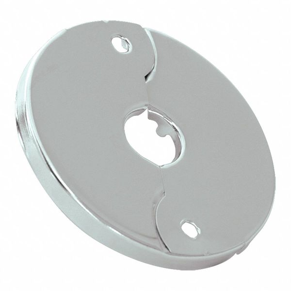 Zoro Select Floor and Ceiling Plate, Silver 25745