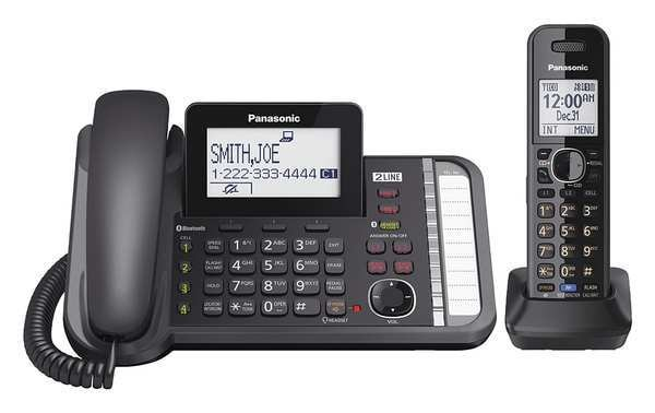 Panasonic Link2Cell Telephone System, 1 Handsets KX-TG9581