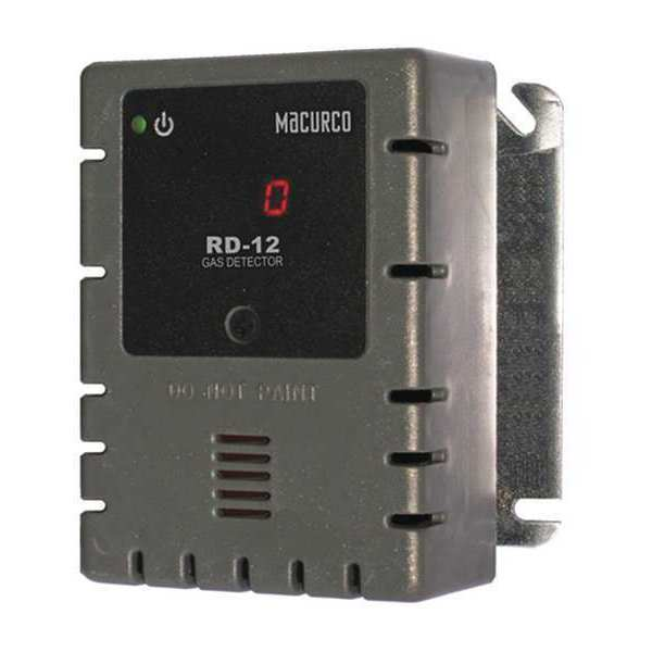 Macurco Fixed Gas Detector, REF, 0 to 1000 ppm RD-12