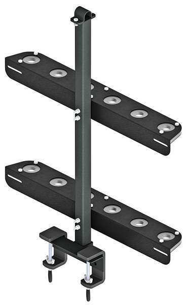 Reese Black Shovel Rack,  31 1/2 In.,  Reese Towpower 7055100