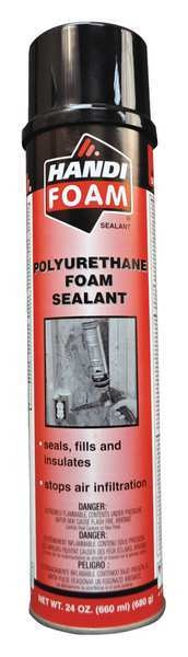 Handi-Foam Gun Foam Sealant, 24 oz., Cream P30115