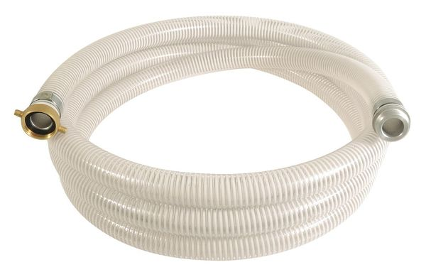 """Zoro Select 1-1/2"""" ID x 20 ft PVC Water Suction Hose Clear/WT 45DU47"""