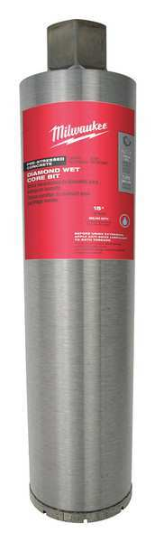 Milwaukee Core Bit,  Dry, 15 in. L, 1 Size 48-17-1010