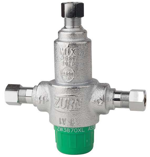 Zurn Wilkins Mixing Valve, Low Lead Cast Bronze 38-ZW3870XLT