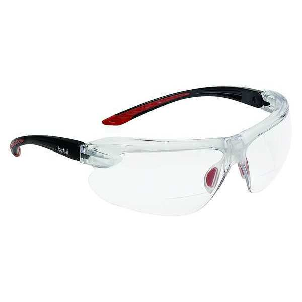 Bolle Safety Safety Reader Glasses, +1.5 Diopter, Clear 40187