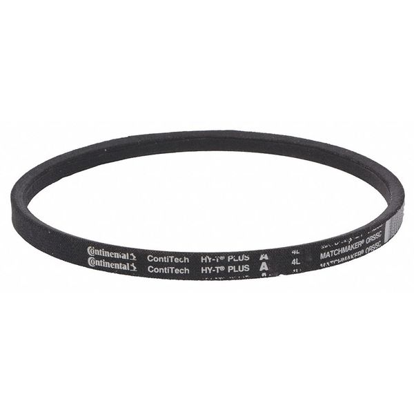 "Continental A19 Wrapped V-Belt,  Outside Length 21"" A19"
