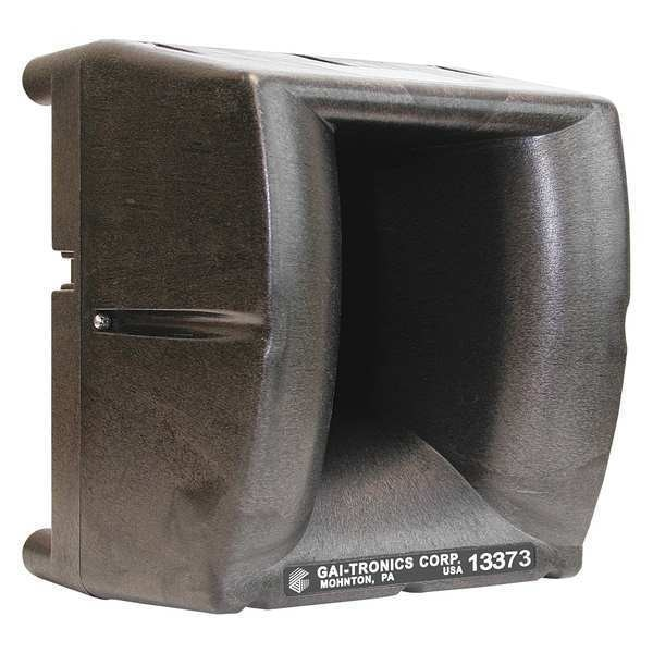 Hubbell Gai-Tronics Amplified Speaker, 8-1/4In.Overall W, UHF 13373