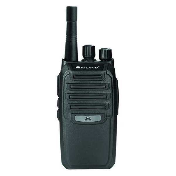 Portable Two Way Radio, 16 CH, Blk, 470 MHz