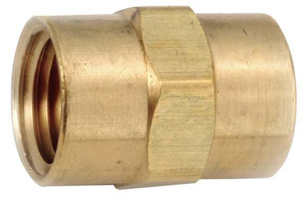 "Zoro Select 3/4"" FNPT Brass Coupling 706103-12"