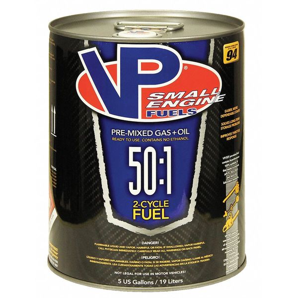 Vp Small Engine Fuels Small Engine Fuel,  2 Cycle,  5 gal. 6232