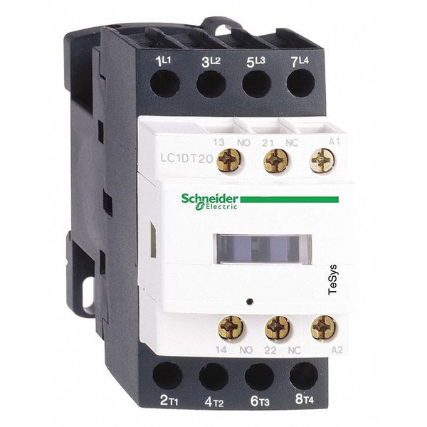 Schneider Electric 120V IEC Magnetic Contactor 12A LC1D128G7