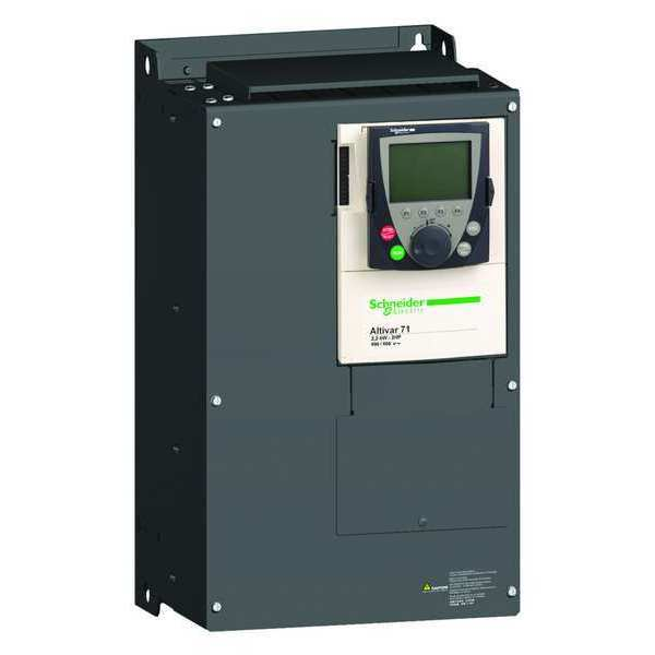 Schneider Electric Variable Frequency Drive, 20 HP, 575-690V ATV71HD15Y