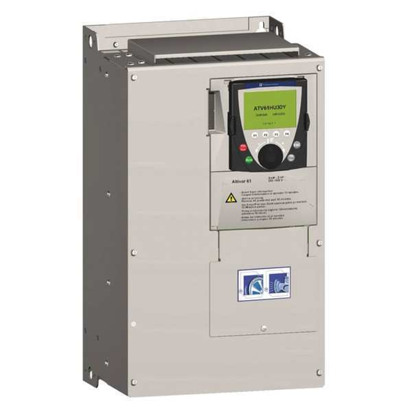 Schneider Electric Variable Frequency Drive, 20 HP, 575-690V ATV61HD18Y