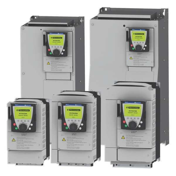 Schneider Electric Variable Frequency Drive, 7-1/2 HP, 575V ATV71HD45Y