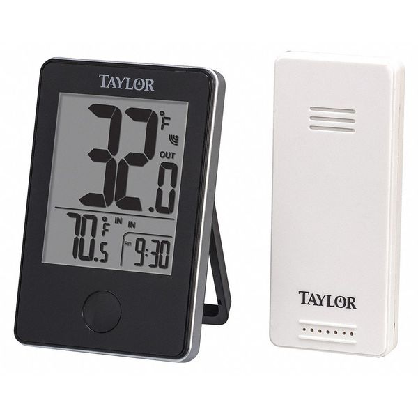 Taylor Wireless In/Out Thermometer w/Remote 1730