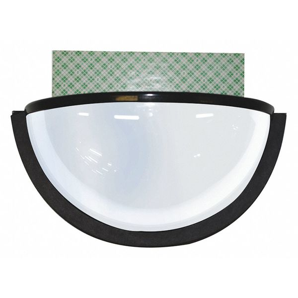 Ironguard Dome Mirror, Black, w/Double Sided Tape 70-1130