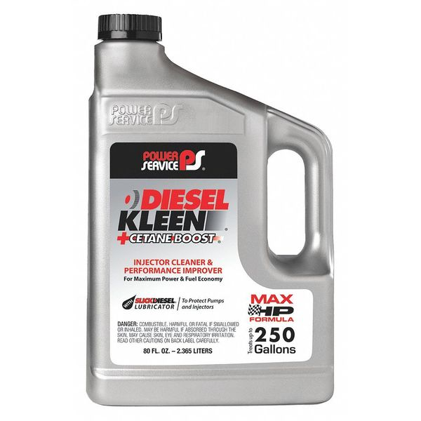 Power Service Products Diesel Fuel Additive,  80 oz. 03080-06