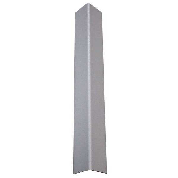 "Pawling Corp Corner Guard,  Textured,  Silver Gray,  90 Deg.,  1-1/2""W X 48""H CGT-12-4-210"