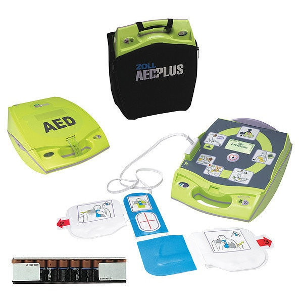 Zoll AED, Automatic, 10 Sec.Charge Time 8000-004007-01