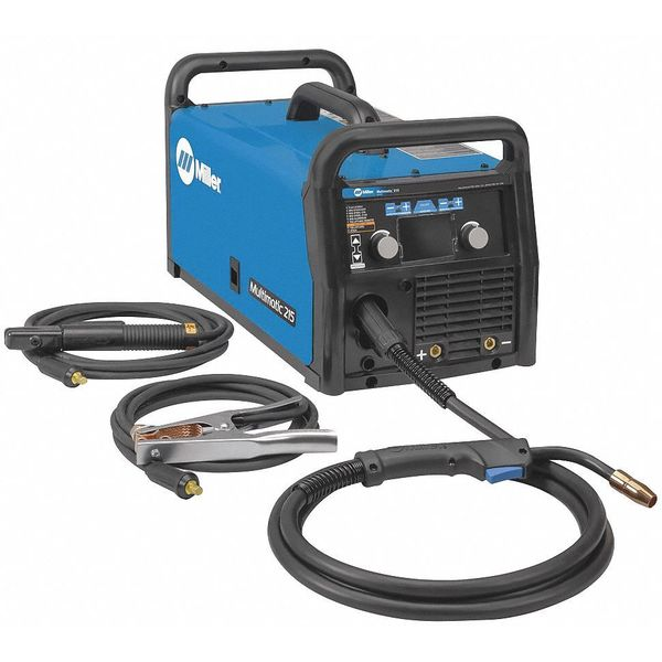 Miller Electric Multiprocess Welder,  Multimatic(TM) 215 Series,  120/240VAC 907693