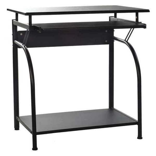 "Comfort Products Computer Desk 27-1/2"" W, Black 50-1001"