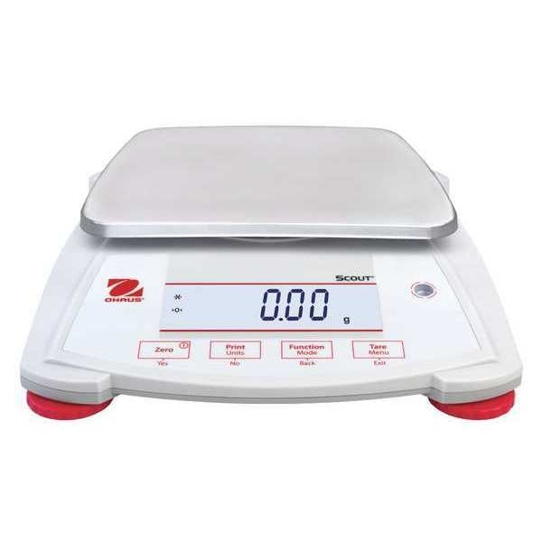 Ohaus Digital Compact Bench Scale 2200g Capacity SPX2202