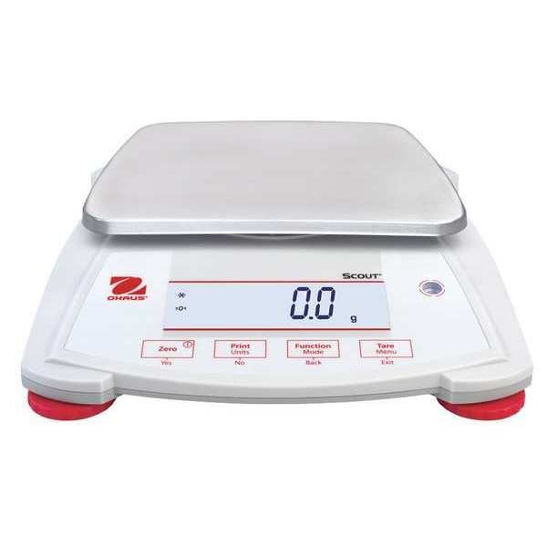 Ohaus Digital Compact Bench Scale 2200g Capacity SPX2201