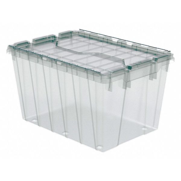 """Akro-Mils Stacking Container,  12-1/2""""H x 21-1/2""""L 39120SCLAR"""