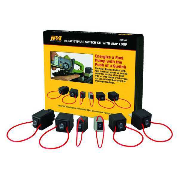 Innovative Products Of America Relay Bypass Switch Kit, Handheld, 6 pcs. 9038A