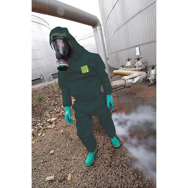 Details about  /Lot Of 2  Ansell Alphatec Microchem Hooded Coveralls SIZE LARGE 68-5000
