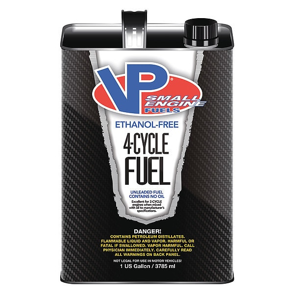 Vp Small Engine Fuels Small Engine Fuel,  4 Cycle, 1 gal., PK4 62014
