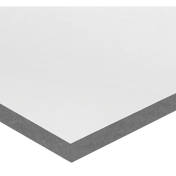 "Usa Sealing Gray UHMW Polyethylene Plastic Sheet Stock 24"" L x 12"" W x 3/4"" Thick PS-UHMW-OF-49"