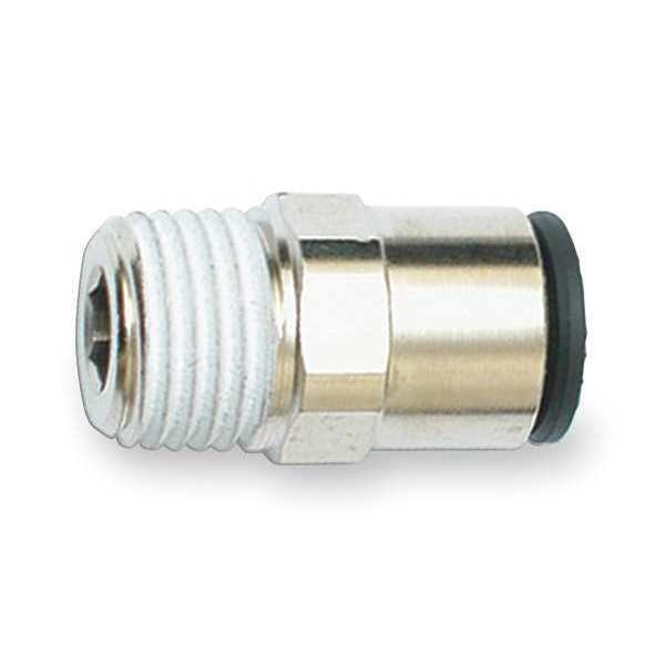 Legris Male Connector, Tube 6mm, Pipe 1/8In, PK10 3175 06 10