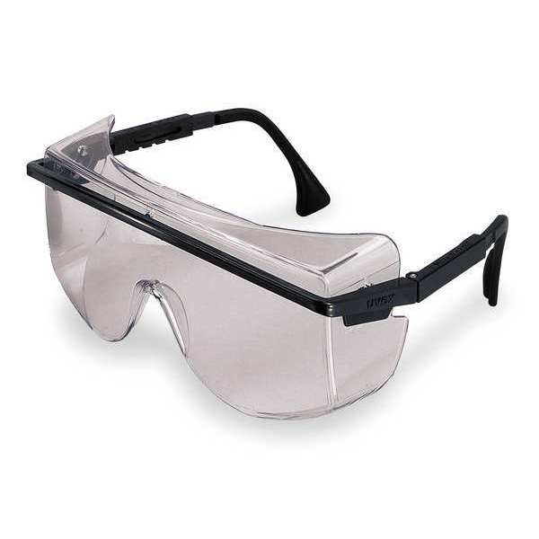 Honeywell Uvex Astrospec® Otg 3001 Safety Glasses With Green Scratch-Resistant Lens S2509