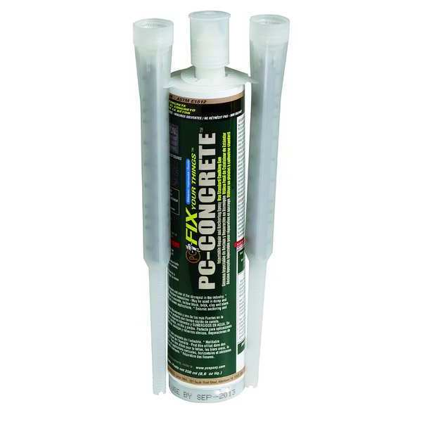 Pc Products 250 ml. Gray Concrete Anchoring and Crack Repair 072561