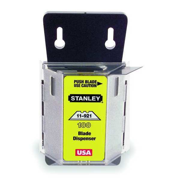 Stanley 2-Point Utility Blade, 3/4 In. W, PK100 11-921A